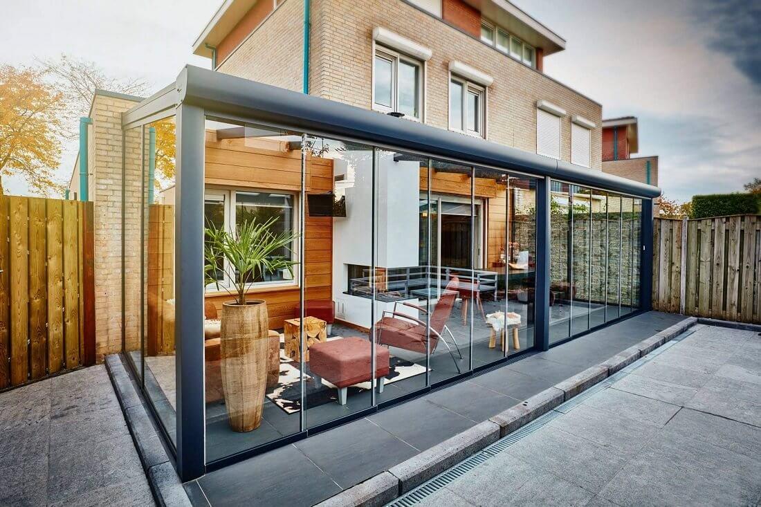 Cerramientos de porches acristalamientos y techos - Porches de aluminio y cristal ...