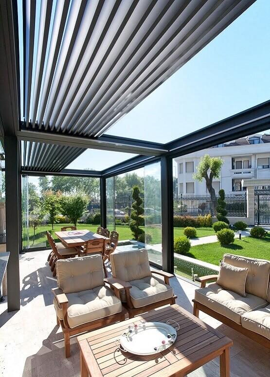 Fotos de cerramientos de cristal en terrazas - Cerramientos para terrazas ...