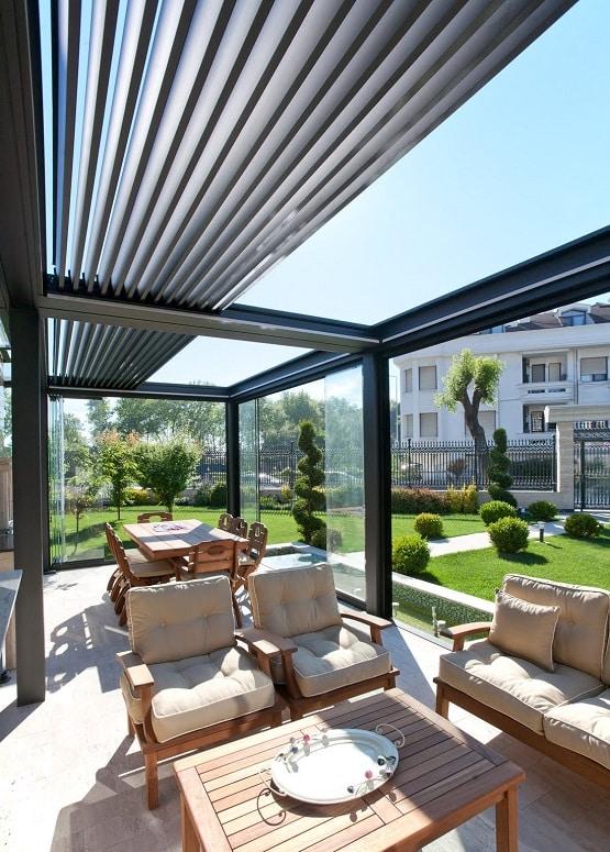 Acristalamiento de porches con cortinas de cristal - Acristalamiento de terrazas precios ...