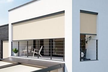 Cierrre de Balcón con Toldo Vertical Screen