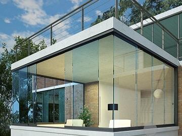 Cerramientos de terrazas con cortinas de cristal - Cristaleras para terrazas ...