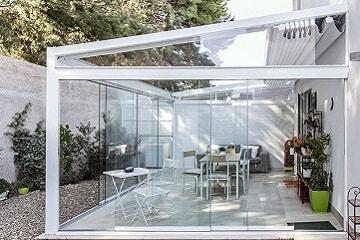 Cortina de cristal techo en catral alicante - Cortinas de cristal alicante ...