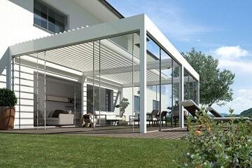 Verandas de Aluminio y Cristal