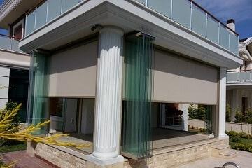 Toldo Vertical para Terrazas y Porches de Exterior